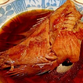 超簡単!日本食研の「煮魚のたれ」赤魚の煮付け