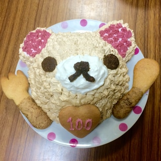 コリラックマ3Dケーキ