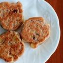 【乳卵小麦砂糖不使用乳幼児おやつ】米粉のパンケーキ