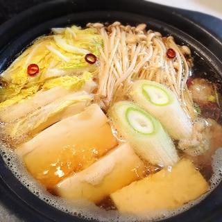 ☆生姜たっぷり鍋☆ 風邪をひいた時に是非‼
