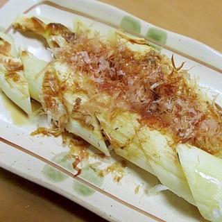 マコモダケの丸焼き