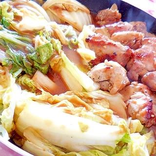 ❤白菜とスパイス鶏のカレー鍋❤