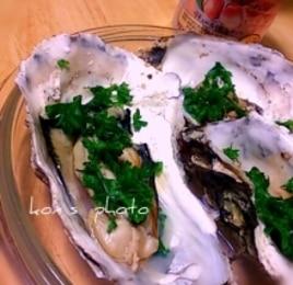 牡蛎の酒蒸し