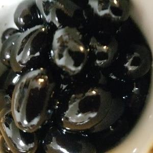 電気圧力鍋で◎おせちの黒豆