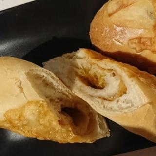 絶対試して欲しい⭐海苔の佃煮とちくわパン