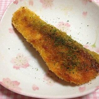 鮭のカレーパン粉焼き