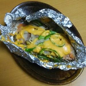 鮭チーズマヨネーズ焼き★オーブンで焼くだけ