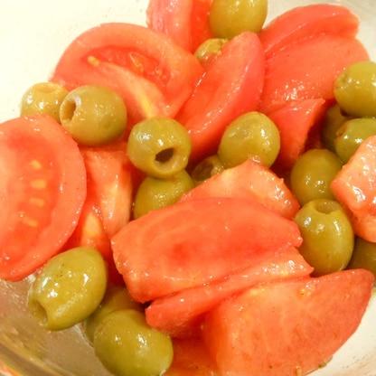 トマト&オリーブマリネ