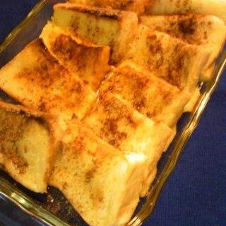 楽チン♡オーブントースターDEフレンチスト♡
