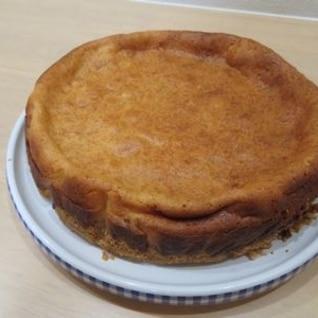 スライスチーズでチーズケーキ