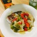 鯛のアラの旨味が美味しいアクアプッツア/トマト煮