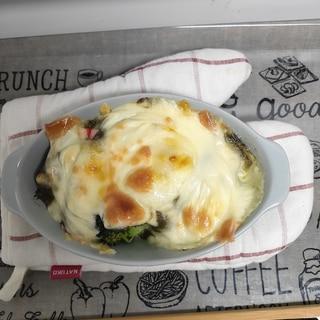 カニ味噌チーズグラタン