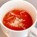 <火を使わない>マグカップでチン!豆苗スープ
