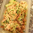 鮭ときゅうりの常備菜