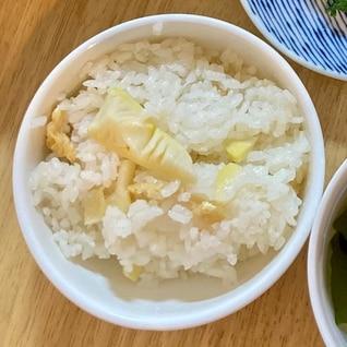 お米もちもち たけのこご飯