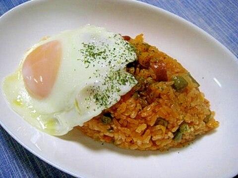 炊飯器deジャンバラヤ