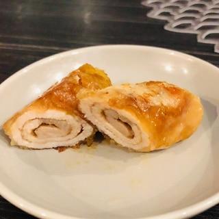 豚ローススライス巻き/オイスターソース