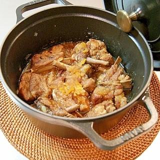 ストウブでとろける☆スペアリブのマーマレード煮