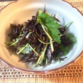 簡単♪ひじきと三つ葉のサラダ