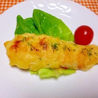 鱈のじゃがチーズ焼き