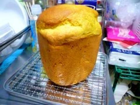 HBで簡単☆にんじんとかぼちゃのレーズンパン