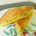 糖質制限 高野豆腐を使って 簡単ピーナッツケーキ