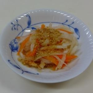 お正月☆簡単おせち料理☆おつまみ紅白なます