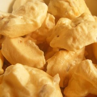 お砂糖不使用☆卵白消費に☆計量楽々クルミメレンゲ