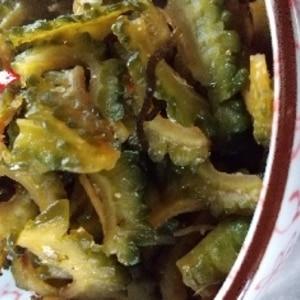 ご飯のおとも 生姜と茗荷とゴーヤの佃煮