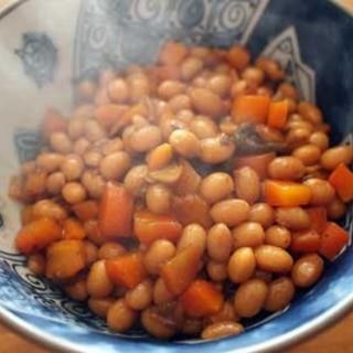 おやつ煮豆