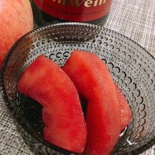 グリューワインで煮りんご
