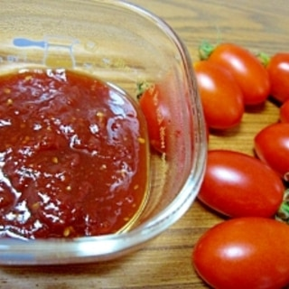 ミニトマトアイコでトマトジャム