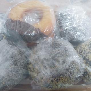 ドーナツの冷凍保存☆