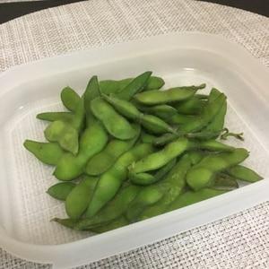 しっかり塩味*枝付き枝豆の茹で方
