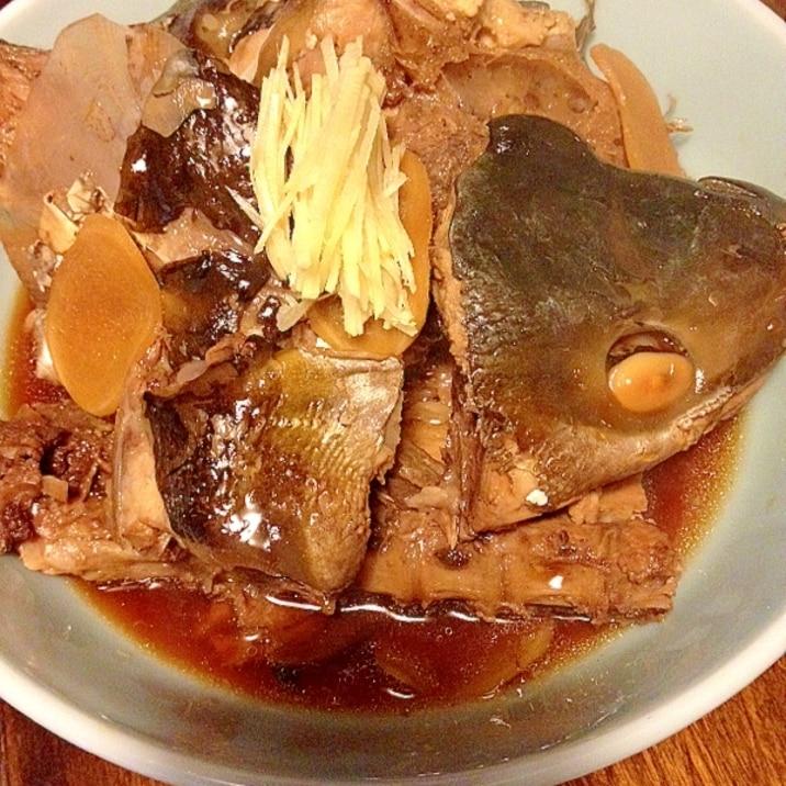 煮 ぶり の あら めんつゆで☆ブリあら大根煮☆ レシピ・作り方