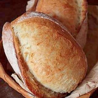 自家製酵母ストレート法でフランスパン(クッペ)