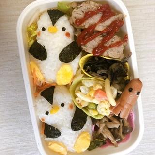 ペンギンキャラ弁