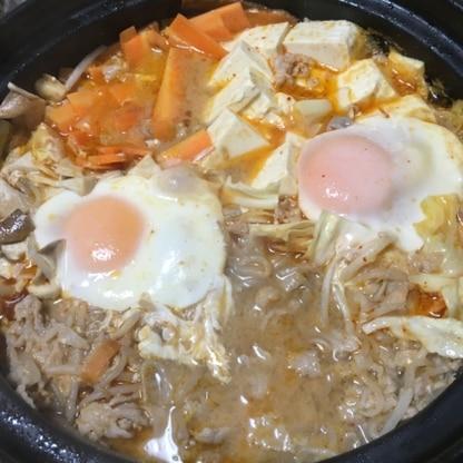 ピリ辛で美味しかったです♪締めの雑炊まで美味しくいただきました(*^^*)