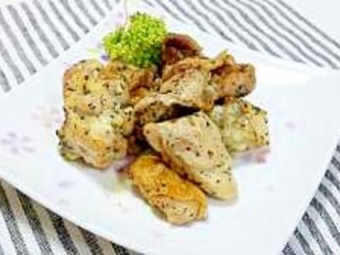 簡単♪洗い物なし☆鶏肉バジルのオーブン焼き