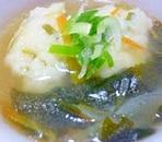 長芋団子の和風スープ