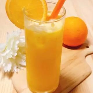 フレッシュ✧夏みかんorオレンジジュース☆.*・゜