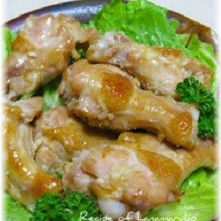 鶏手羽元の塩麹漬け焼き