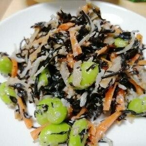 おすすめ♪和風カラフルひじきサラダ