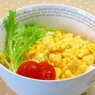 簡単昼ごはん☆うまダレで卵丼