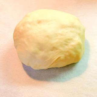 ビニール袋で簡単ピザ生地