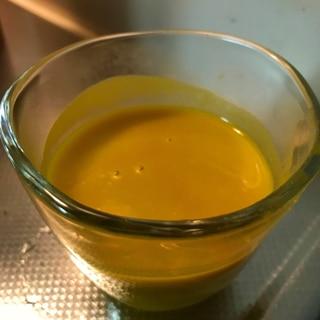 濃厚!とても簡単にできるかぼちゃの冷製スープ