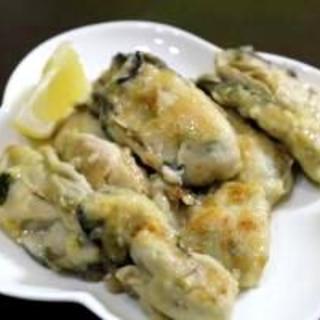 ガーリックバターしょうゆで牡蠣のムニエル