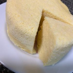 糖質制限★粉不使用★ヨーグルトおからレンジケーキ♡