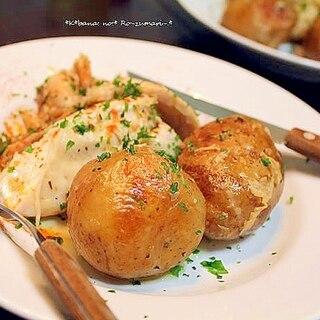チキンとポテトのローズマリー焼き