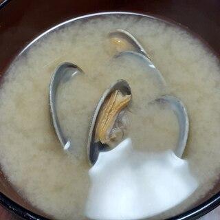 あさりのお味噌汁♪